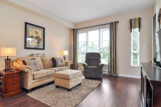 """Photo 2: 210 23215 BILLY BROWN Road in Langley: Fort Langley Condo for sale in """"Waterfront at Bedford Landing - 45+"""" : MLS®# R2395039"""