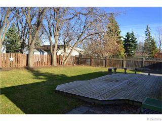 Photo 17: 11 Lismer Crescent in Winnipeg: Westdale Residential for sale (1H)  : MLS®# 1628615
