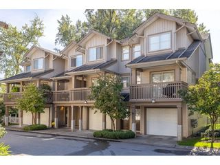 """Photo 1: 46 19250 65 Avenue in Surrey: Clayton Townhouse for sale in """"Sunberry Court"""" (Cloverdale)  : MLS®# R2621146"""