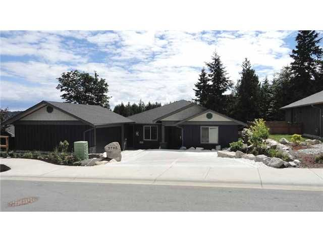 "Main Photo: 5743 GENNI'S Way in Sechelt: Sechelt District House for sale in ""THE RIDGE"" (Sunshine Coast)  : MLS®# V900988"