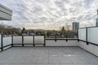 """Photo 1: 16 856 ORWELL Street in North Vancouver: Lynnmour Townhouse for sale in """"CONTINUUM at Nature's Edge"""" : MLS®# R2531960"""