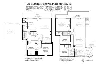 "Photo 40: 952 ALDERSIDE Road in Port Moody: North Shore Pt Moody House for sale in ""PLEASANTSIDE"" : MLS®# R2618853"