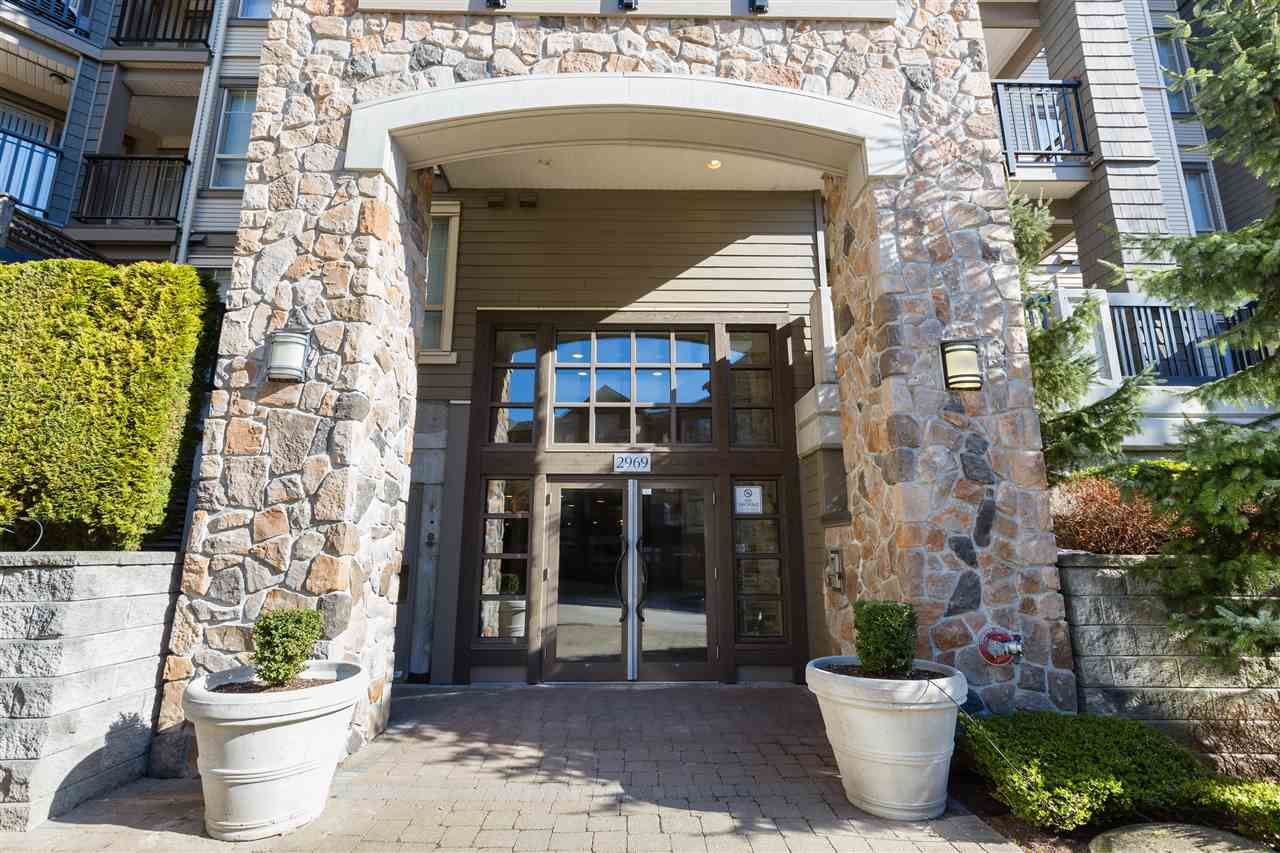 """Main Photo: 204 2969 WHISPER Way in Coquitlam: Westwood Plateau Condo for sale in """"SUMMERLIN at SILVER SPRINGS"""" : MLS®# R2587464"""