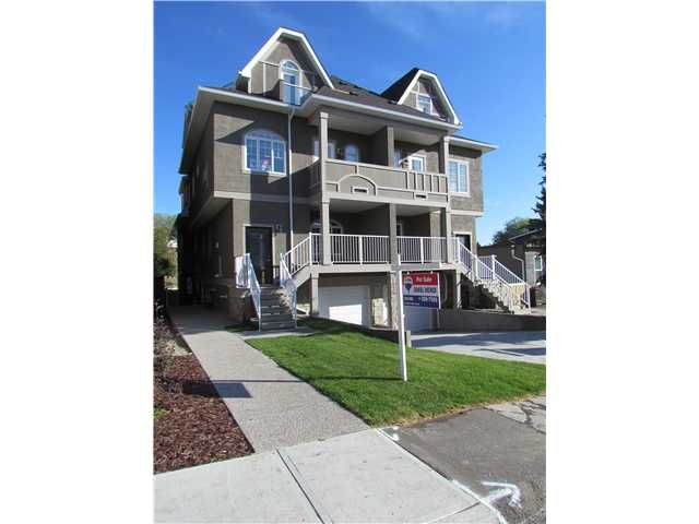 Main Photo: 2 2020 27 Avenue SW in CALGARY: South Calgary Townhouse for sale (Calgary)  : MLS®# C3503485