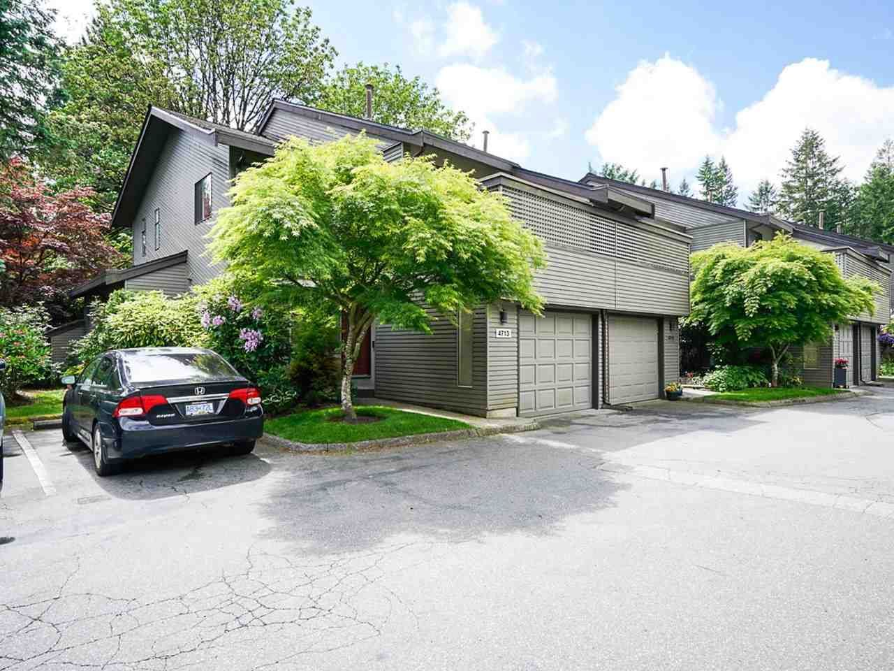 """Photo 2: Photos: 4713 GLENWOOD Avenue in North Vancouver: Canyon Heights NV Townhouse for sale in """"Montroyal Village"""" : MLS®# R2464484"""