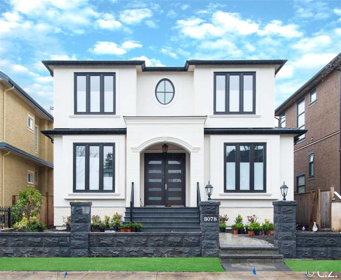 """Main Photo: 3078 W 20TH Avenue in Vancouver: Arbutus House for sale in """"ARBUTUS"""" (Vancouver West)  : MLS®# R2020937"""