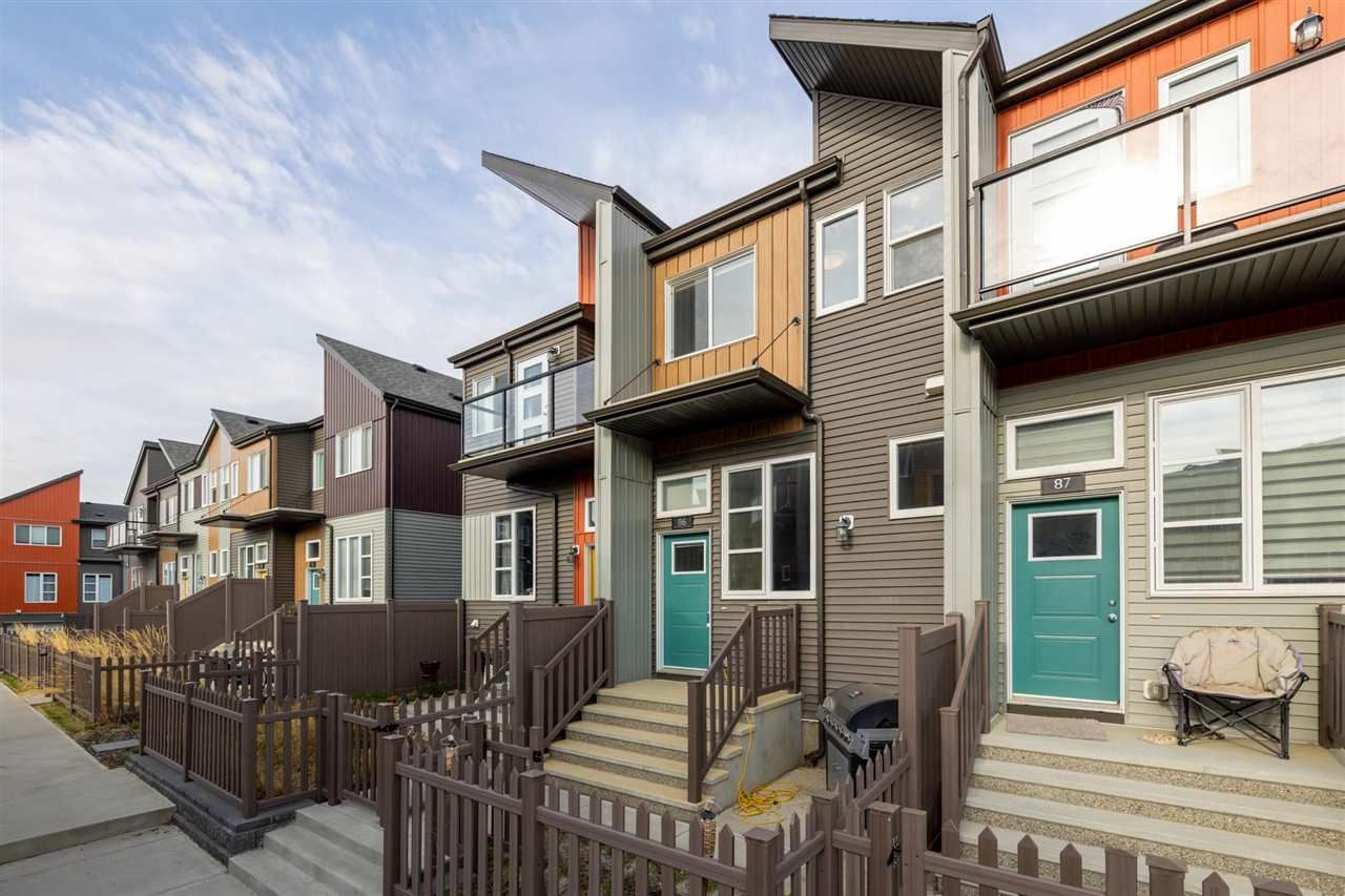 Main Photo: 4470 PROWSE Road in Edmonton: Zone 55 Townhouse for sale : MLS®# E4244991