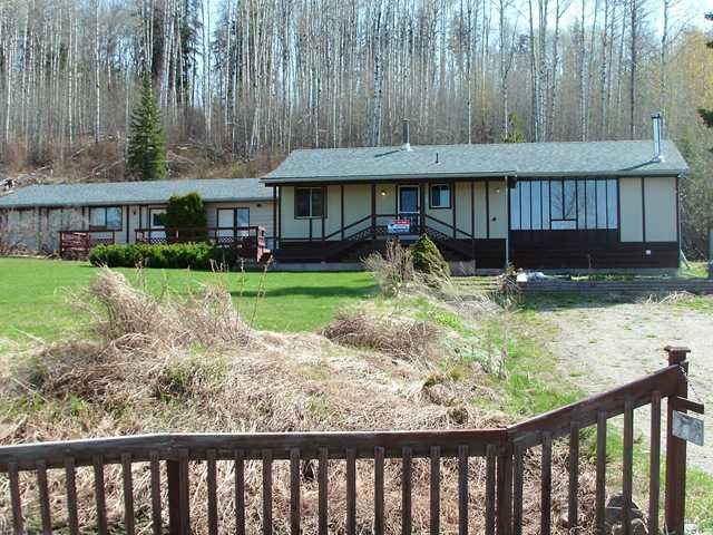 Main Photo: 5732 QUESNEL-HIXON Road in Quesnel: Quesnel - Rural North House for sale (Quesnel (Zone 28))  : MLS®# N217683