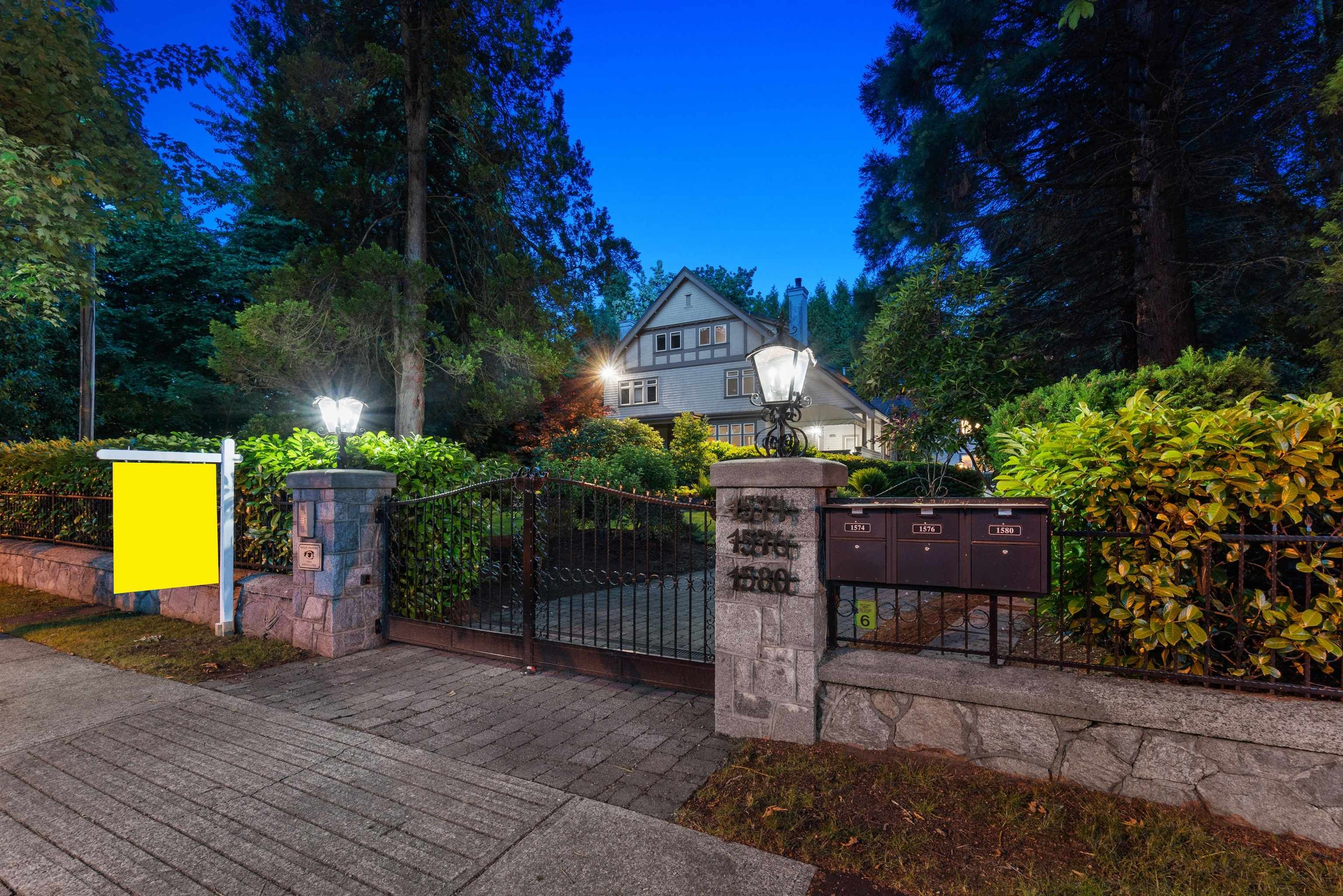 Main Photo: 1574 - 1580 ANGUS Drive in Vancouver: Shaughnessy Townhouse for sale (Vancouver West)  : MLS®# R2616703
