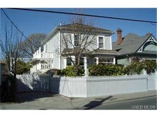 Photo 1: 586 Toronto St in VICTORIA: Vi James Bay House for sale (Victoria)  : MLS®# 334211