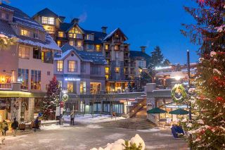 """Main Photo: 7712 4299 BLACKCOMB Way in Whistler: Whistler Village Condo for sale in """"Pan Pacific Village Centre"""" : MLS®# R2589537"""