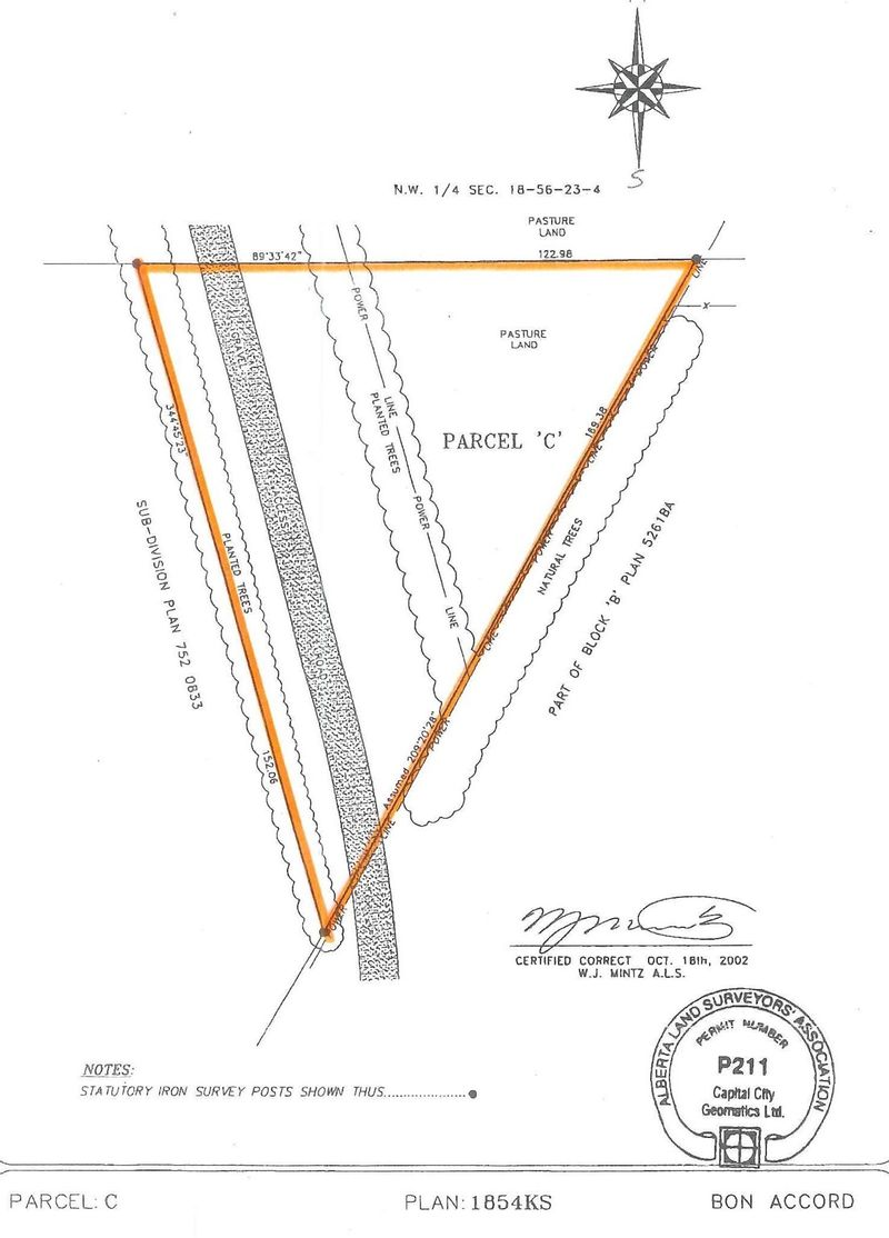 FEATURED LISTING: Plan 1854KS Parcel C - east end of 52 Avenue Bon Accord