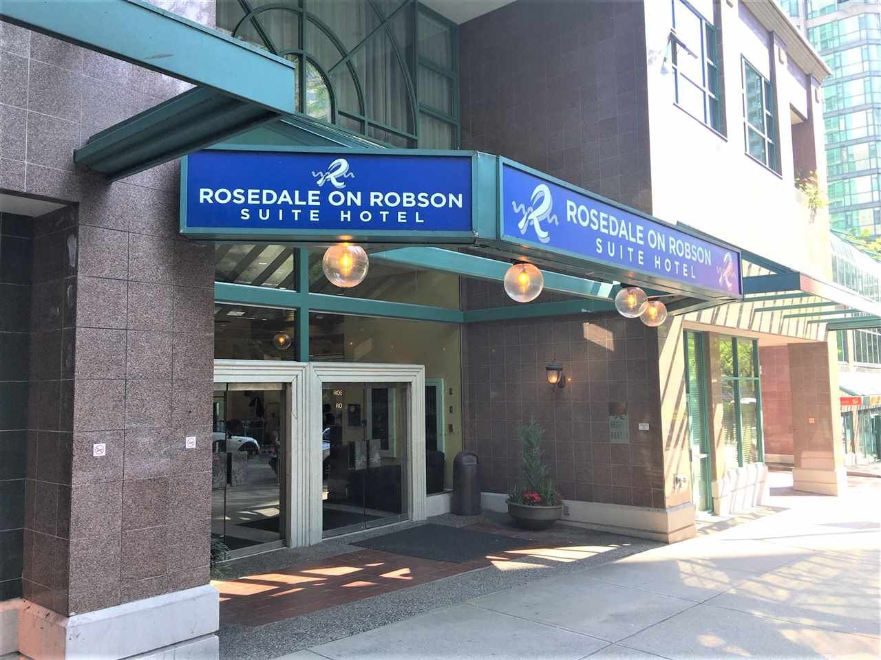 """Main Photo: 513 838 HAMILTON Street in Vancouver: Downtown VW Condo for sale in """"ROSEDALE ON ROBSON"""" (Vancouver West)  : MLS®# R2376049"""