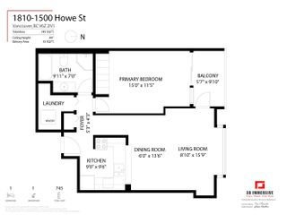 """Photo 20: 1810 1500 HOWE Street in Vancouver: Yaletown Condo for sale in """"The Discovery"""" (Vancouver West)  : MLS®# R2619778"""