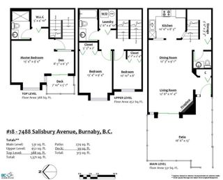 """Photo 18: 18 7488 SALISBURY Avenue in Burnaby: Highgate Townhouse for sale in """"WINSTON GARDENS"""" (Burnaby South)  : MLS®# R2197419"""