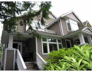 Photo 1: 312 W 11TH AV in Vancouver: Mount Pleasant VW Townhouse for sale (Vancouver West)  : MLS®# V541940