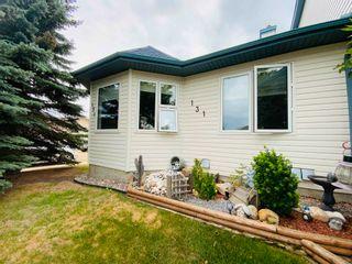 Photo 1: 131 Parkside Drive: Wetaskiwin House Half Duplex for sale : MLS®# E4253062