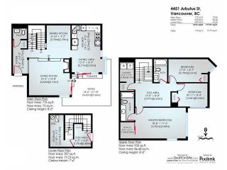 """Photo 21: 4451 ARBUTUS Street in Vancouver: Quilchena Townhouse for sale in """"Arbutus West"""" (Vancouver West)  : MLS®# V1135323"""
