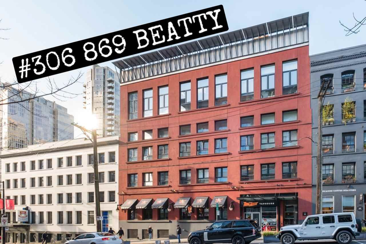 "Main Photo: 306 869 BEATTY Street in Vancouver: Downtown VW Condo for sale in ""THE HOOPER"" (Vancouver West)  : MLS®# R2551567"