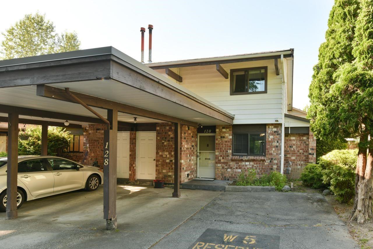 "Main Photo: 128 7472 138 Street in Surrey: East Newton Townhouse for sale in ""GLENCOE ESTATES"" : MLS®# R2597771"