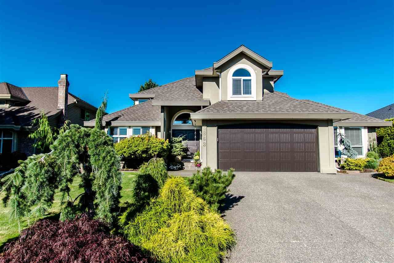 """Main Photo: 5863 188A Street in Surrey: Cloverdale BC House for sale in """"Rosewood"""" (Cloverdale)  : MLS®# R2494809"""