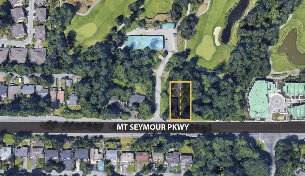 Main Photo: 3252 MT SEYMOUR Parkway in North Vancouver: Northlands Land for sale : MLS®# R2599446