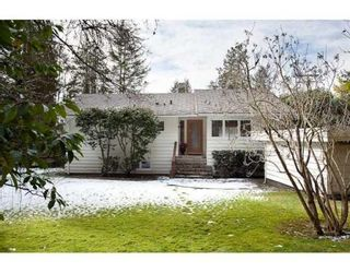Photo 1: 5090 KEITH RD in West Vancouver: House for sale : MLS®# V873173