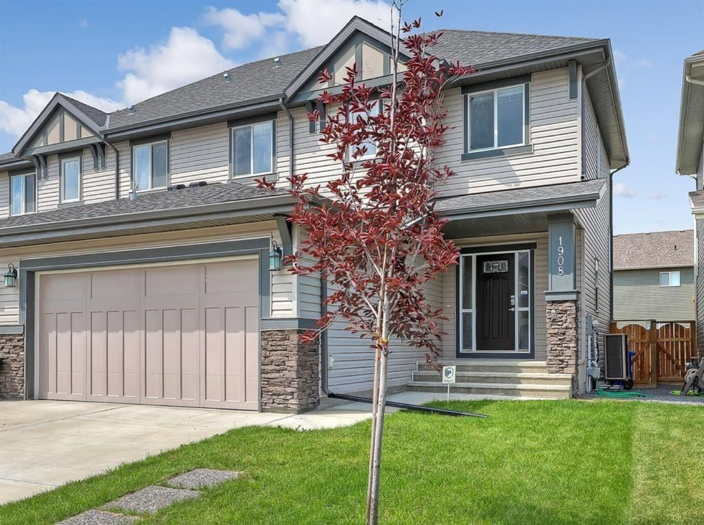 Main Photo: 1908 Baywater Alley SW: Airdrie Semi Detached for sale : MLS®# A1090526