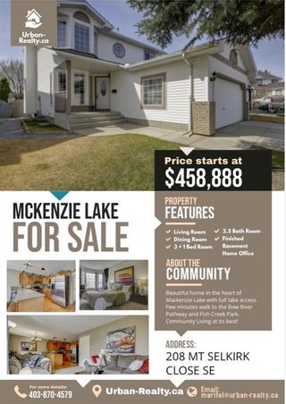Photo 38: 208 Mt Selkirk Close SE in Calgary: McKenzie Lake Detached for sale : MLS®# A1104608