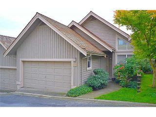 """Photo 1: 110 1465 PARKWAY Boulevard in Coquitlam: Westwood Plateau Townhouse for sale in """"SILVER OAK"""" : MLS®# V1092299"""