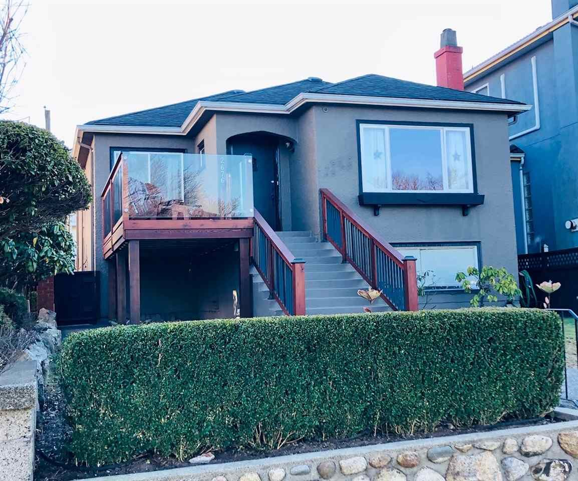 Main Photo: 2676 E 4TH Avenue in Vancouver: Renfrew VE House for sale (Vancouver East)  : MLS®# R2342252