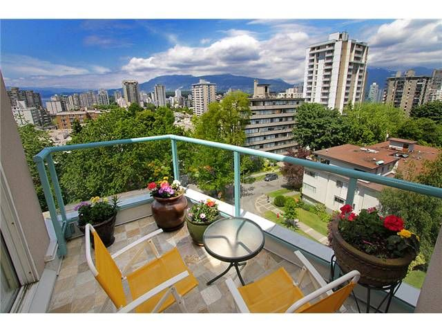 """Main Photo: 801 1272 COMOX Street in Vancouver: West End VW Condo for sale in """"CHATEAU COMOX"""" (Vancouver West)  : MLS®# V896383"""
