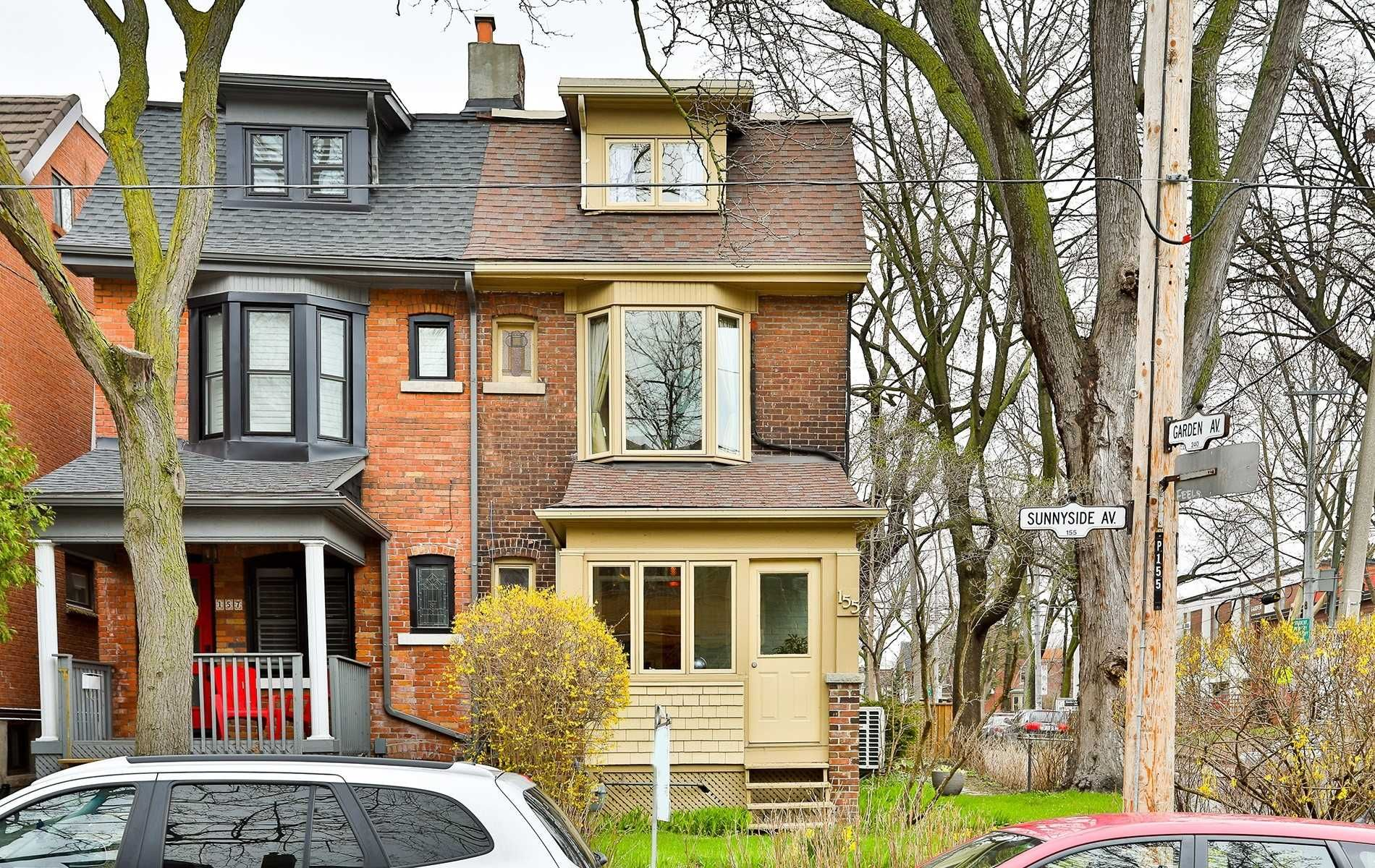 Main Photo: 155 Sunnyside Avenue in Toronto: High Park-Swansea House (2 1/2 Storey) for sale (Toronto W01)  : MLS®# W4440904