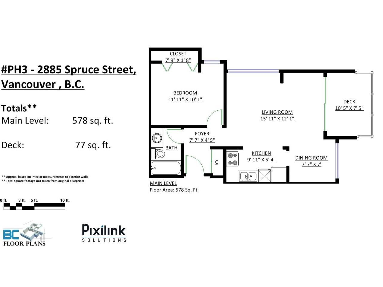 Photo 16: Photos: P3 2885 SPRUCE Street in Vancouver: Fairview VW Condo for sale (Vancouver West)  : MLS®# R2052789