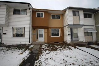 Photo 1: B 1312 Molson Street in Winnipeg: Valley Gardens Residential for sale (3E)  : MLS®# 1804468