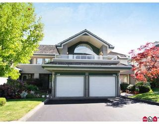 """Photo 1: 146 4001 OLD CLAYBURN Road in Abbotsford: Abbotsford East Townhouse for sale in """"CEDAR SPRINGS"""" : MLS®# F2827073"""
