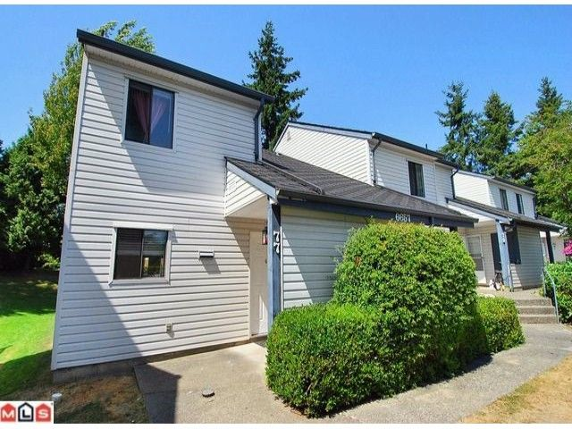 """Main Photo: 77 6657 138TH Street in Surrey: East Newton Townhouse for sale in """"Hyland Creek Estates"""" : MLS®# F1019920"""