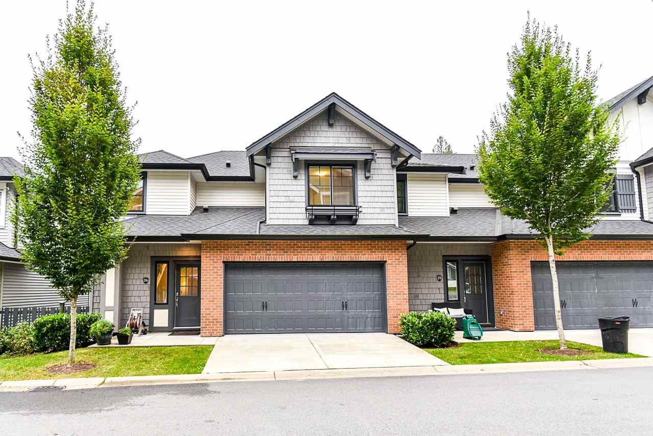 """Main Photo: 26 3461 PRINCETON Avenue in Coquitlam: Burke Mountain Townhouse for sale in """"BRIDLEWOOD"""" : MLS®# R2500651"""