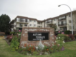 "Photo 1: 203 2414 CHURCH Street in Abbotsford: Abbotsford West Condo for sale in ""AUTUMN TERRACE"" : MLS®# F1225920"