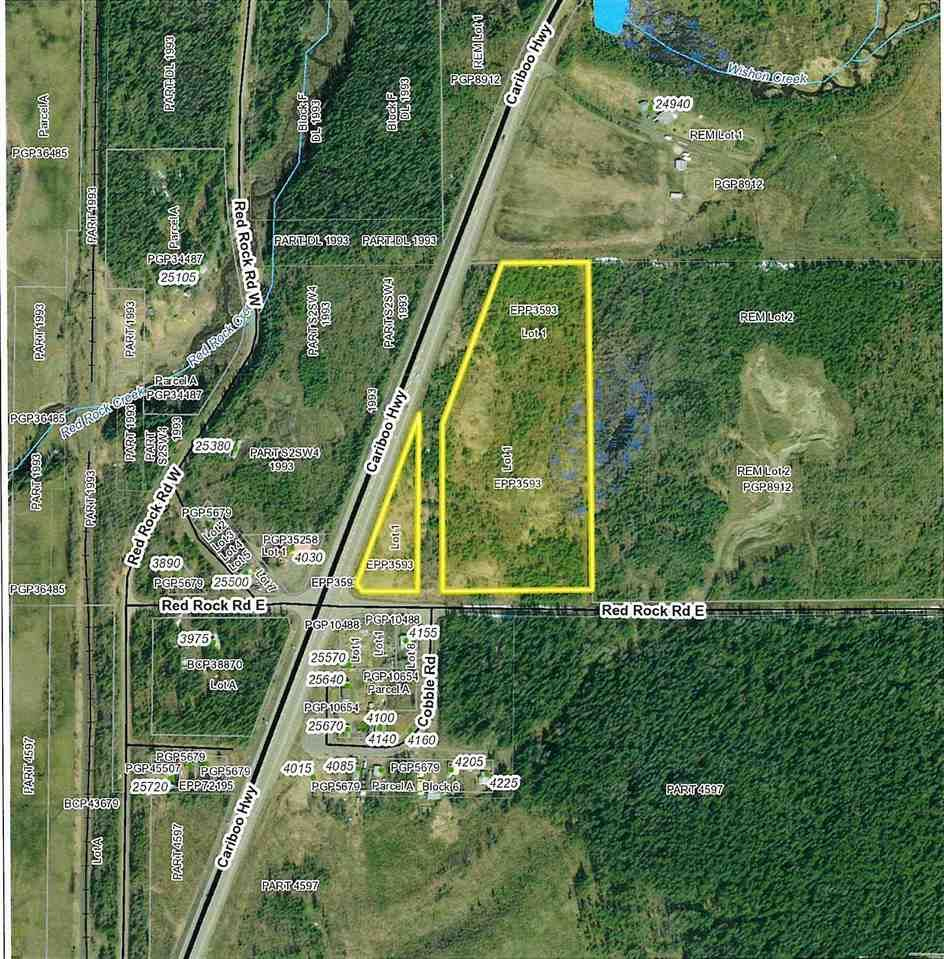 Main Photo: LOTS 1 & 2 E RED ROCK Road in Red Rock / Stoner: Red Rock/Stoner Industrial for sale (PG Rural South (Zone 78))  : MLS®# C8038836