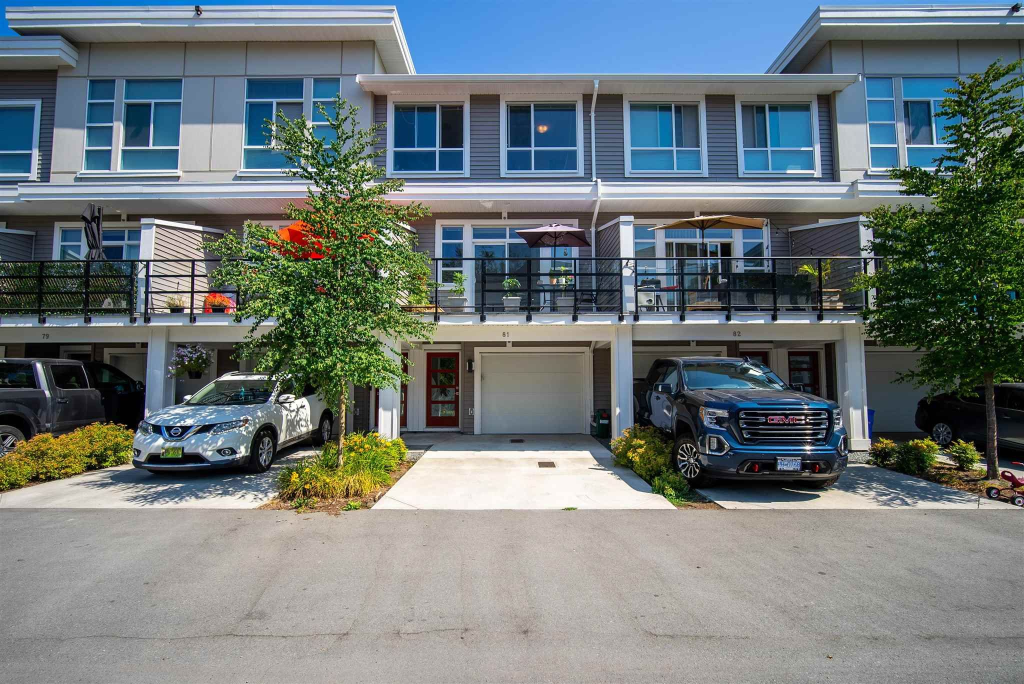 Main Photo: 81 8413 MIDTOWN Way in Chilliwack: Chilliwack W Young-Well Townhouse for sale : MLS®# R2599814