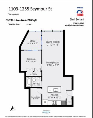 """Photo 22: 1103 1255 SEYMOUR Street in Vancouver: Downtown VW Condo for sale in """"ELAN"""" (Vancouver West)  : MLS®# R2613560"""