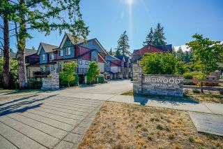 """Photo 1: 10 6929 142 Street in Surrey: East Newton Townhouse for sale in """"Redwood"""" : MLS®# R2603111"""