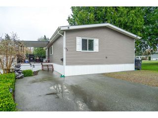 "Photo 1: 183 7790 KING GEORGE Boulevard in Surrey: East Newton Manufactured Home for sale in ""Crispen Bays"" : MLS®# R2555567"