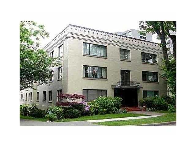 """Main Photo: # 4 985 JERVIS ST in Vancouver: West End VW Condo for sale in """"Sherwood Lodge"""" (Vancouver West)  : MLS®# V996836"""
