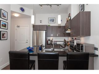 """Photo 8: 416 20219 54A Avenue in Langley: Langley City Condo for sale in """"SUEDE LIVING"""" : MLS®# R2590437"""