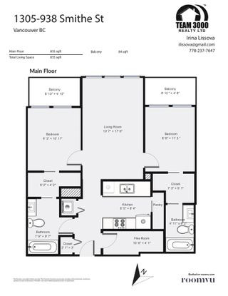 """Photo 12: 1305 938 SMITHE Street in Vancouver: Downtown VW Condo for sale in """"ELECTRIC AVENUE"""" (Vancouver West)  : MLS®# R2491413"""