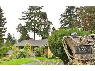 Photo 2: 4559 Seawood Terr in VICTORIA: SE Gordon Head House for sale (Saanich East)  : MLS®# 685268