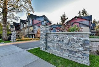 """Photo 1: 2 6929 142ND Street in Surrey: East Newton Townhouse for sale in """"REDWOOD"""" : MLS®# R2354348"""