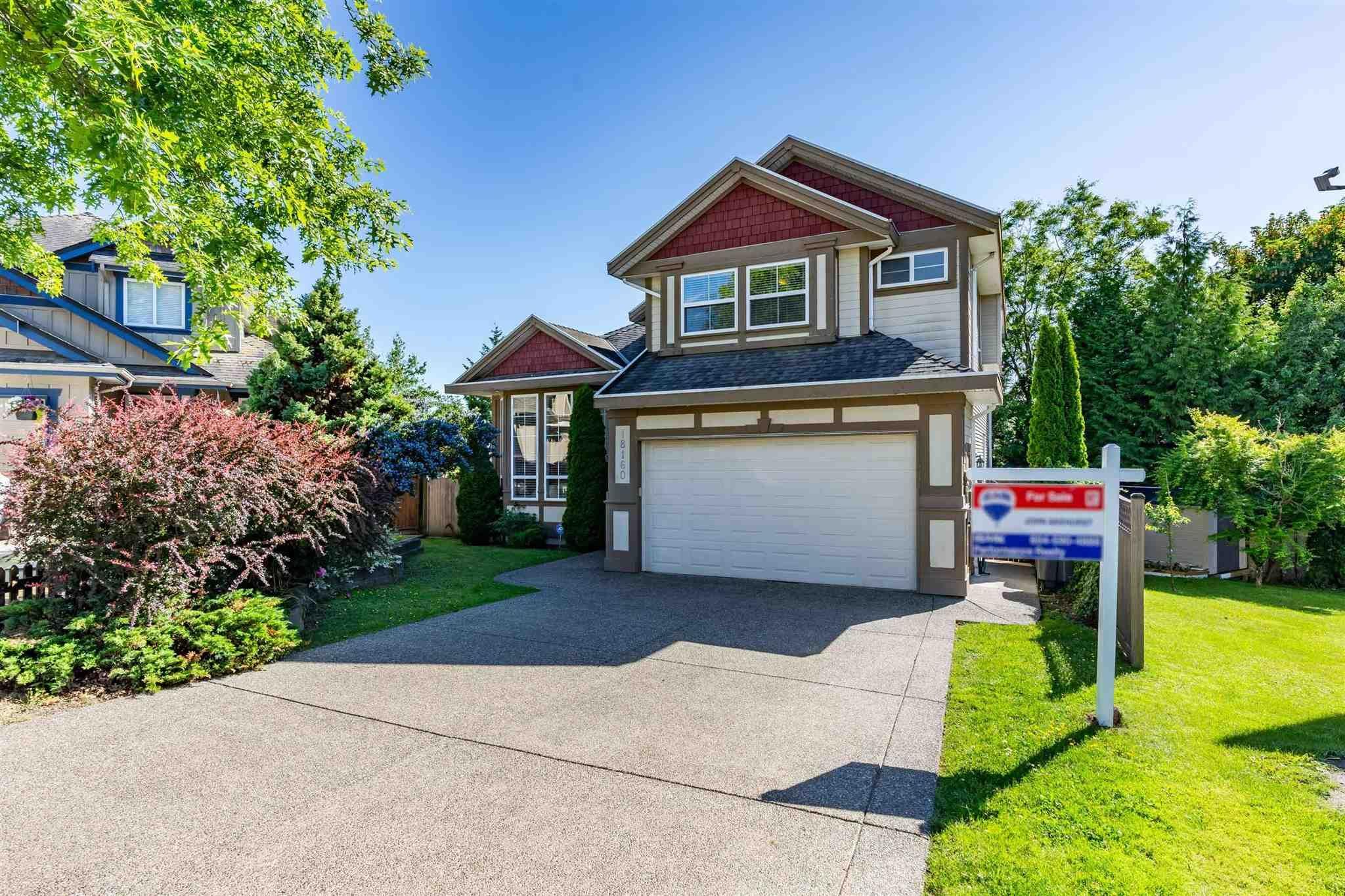"Main Photo: 18160 60A Avenue in Surrey: Cloverdale BC House for sale in ""CLOVERDALE"" (Cloverdale)  : MLS®# R2590172"